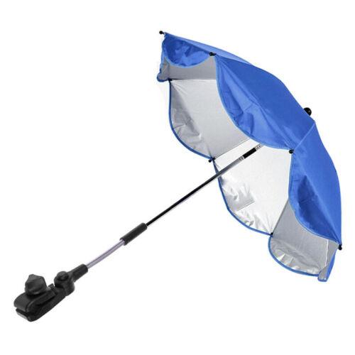 Sun Umbrella Parasol Buggy Pushchair Pram Stroller Shade Canopy Cover Rain Cover