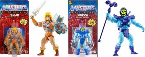 Masters of the Universe Origins HE-MAN /& squelettor Battle Figures Set