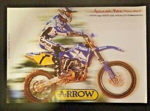 Vintage Andrea Bartolini Poster 1999 500cc Motocross Champion Yamaha