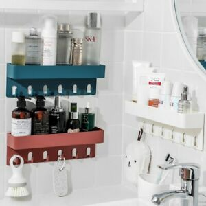 Shower-Rack-Shelf-Bathroom-Storage-Caddy-Organiser-Basket-Suction-Shelf-Tidy