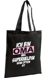 Shopping-Bag-Organic-Zen-Shopper-Ich-bin-Oma-weil-Superheldin-keine-Option-ist