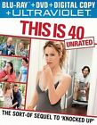 This Is 40 Unrated Blu-ray DVD Digital Copy UltraViolet