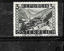 AUSTRIA  SC#480 1946 POSTALLY USED 3 SCHILLING CARINTHIA DEFINITIVE STAMP