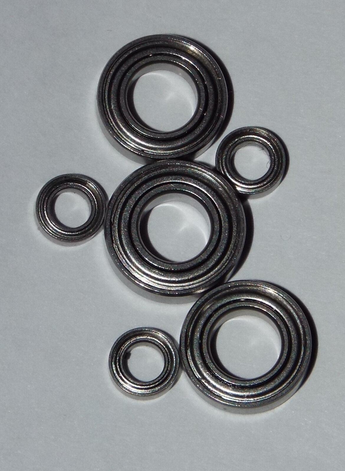 Shimano Aernos 4000FA C5000FA bearing set Upgrade abec7 stainless steel (FS 205