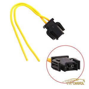 2 pin brake tail light wiring plug socket pigtail for vw. Black Bedroom Furniture Sets. Home Design Ideas