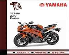 Yamaha YZF-R6 R6 2009 Service Repair Workshop Manual