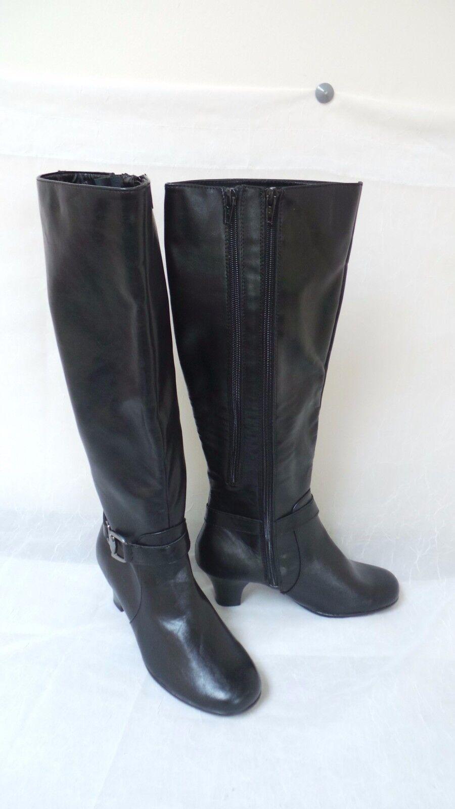New  Aerosoles Womens Pariwinkle Knee High Boots-Black  150K
