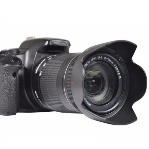 58mm Flower Petal Screw-On Lens Hood For Canon Nikon Sony DSLR SLR Accessories