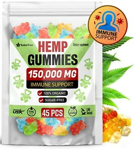150-000-MG-Hemp-Gummies-for-Pain-amp-Anxiety-Immune-System-Booster