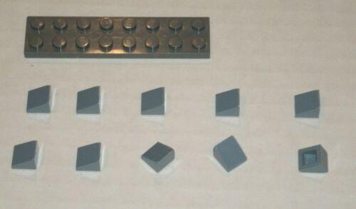 6062686 Brick 54200 10x LEGO NEW 1x1x0.66 Sand Blue Slope 31°