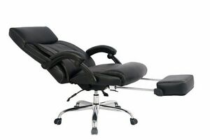 Image Is Loading VIVA OFFICE High Back Bonded Leather Recliner Office
