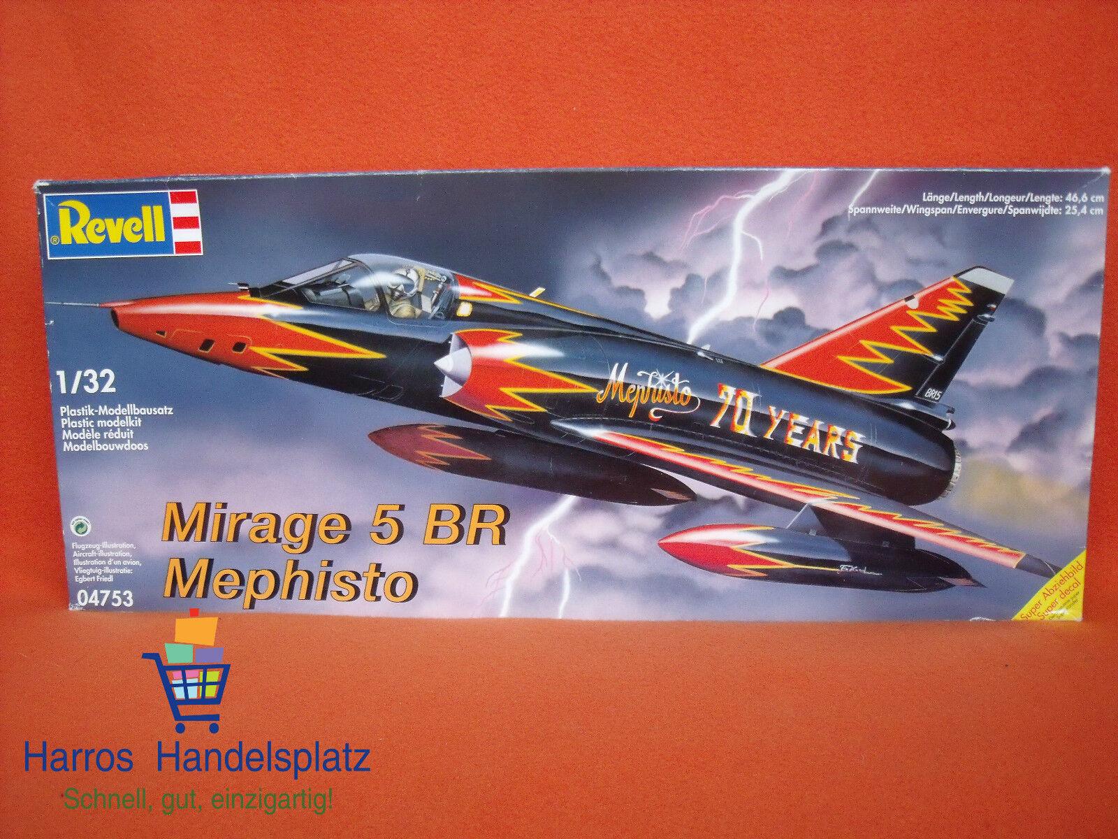 Revell ® 04753 Mirage 5 BR Mephisto 1 32    Ausgezeichnete Leistung
