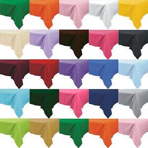 tischtuch aus kunsstoff tuch abwischen party tischdecke rechteckig ebay. Black Bedroom Furniture Sets. Home Design Ideas