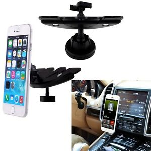 Strong-Magnet-Cradle-less-Magnetic-Car-CD-Slot-Mount-Holder-for-Mobile-Phone-GPS