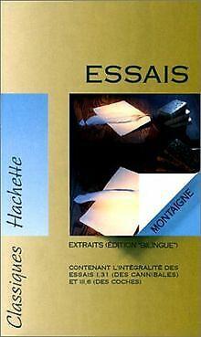 Les Essais de Michel Eyquem de Montaigne | Livre | état bon