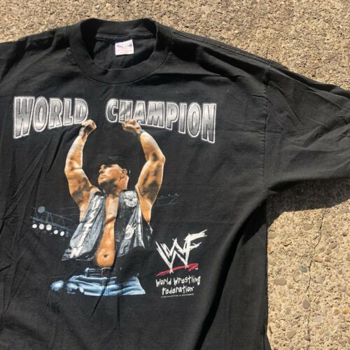 Vintage 1998 Wwf Stone Cold Steve Austin T Shirt S