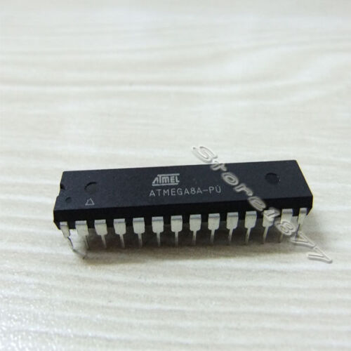 1pcs ATMEL ATMEGA8A-PU ATMEGA8A MCU AVR 8K FLASH 16MHZ DIP28