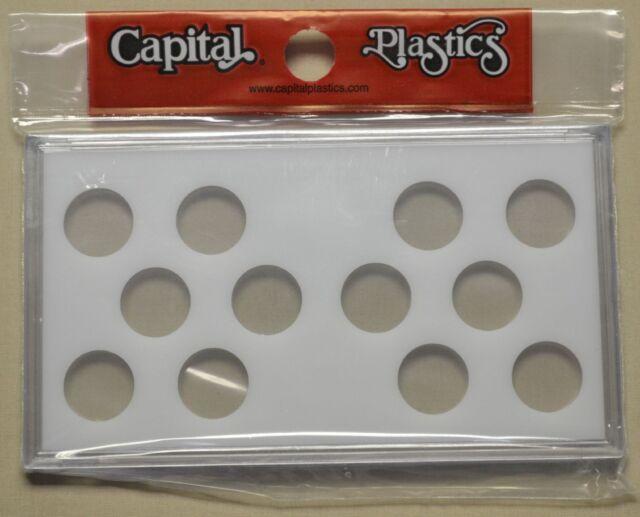 Capitol Plastics 1934-1938-D Black Hard Plastic Buffalo Nickel Holder MA436