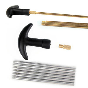 Gun Cleaning Rods Set Alumium Thread 8-32 for Tactical Hunting Airsoft Accessory