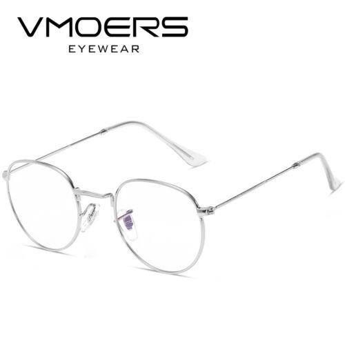 VMOERS Retro Small Round Sunglasses Men Vintage Brand Shades Male Black Metal