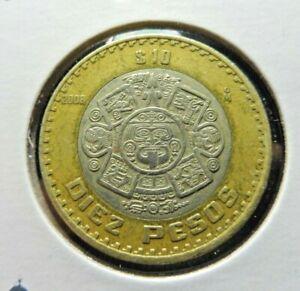 Mexico 10 Pesos 2008   👀