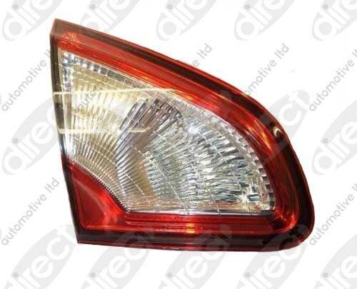 NISSAN QASHQAI 2010-2014 Rear Light Lamp Inner LH Left Passenger NS Nearside