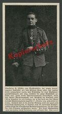Landser H. Müller Tapferkeit Held Westfront Orden Geestemünde Bremerhaven 1915!!