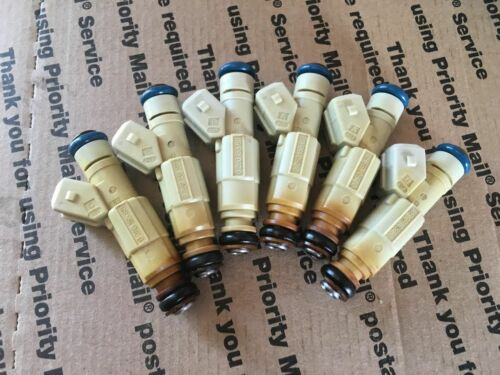 87-97 UPGRADE! JEEP 4.0L BOSCH TYPE III FUEL INJECTORS SET 6 36LB EV1