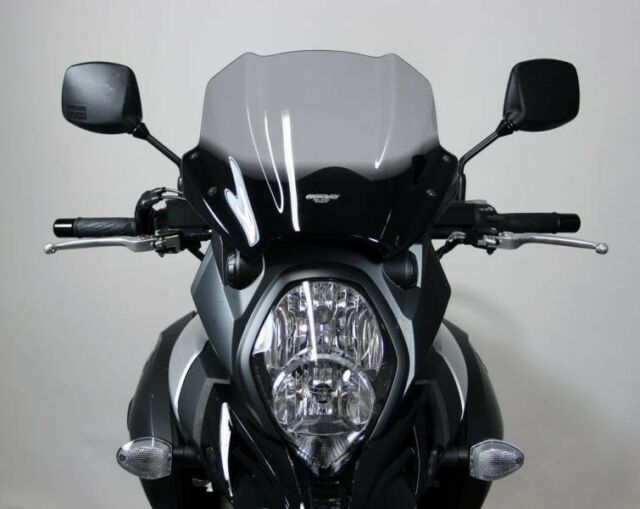 form R K10 Motorcycle Windshields MRA BMW S1000 R smoke 2014-