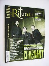 RITUAL MAGAZINE # 25 MARZO 2006 - COVENANT - SOLEFALD - TERRORFAKT - EMPULSAE
