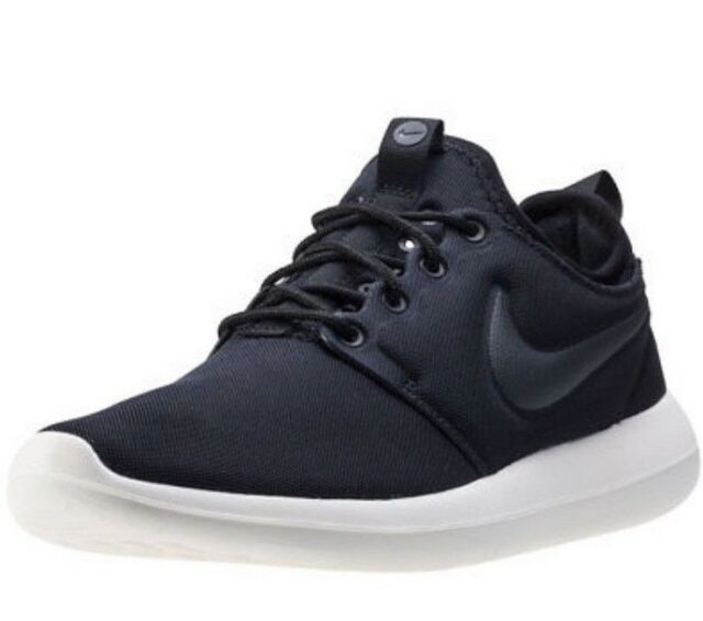 half off 9d720 f1b1b Nike Roshe Two 844931001 Trainers Casual Women Shoes UK Size 6 Black (113)