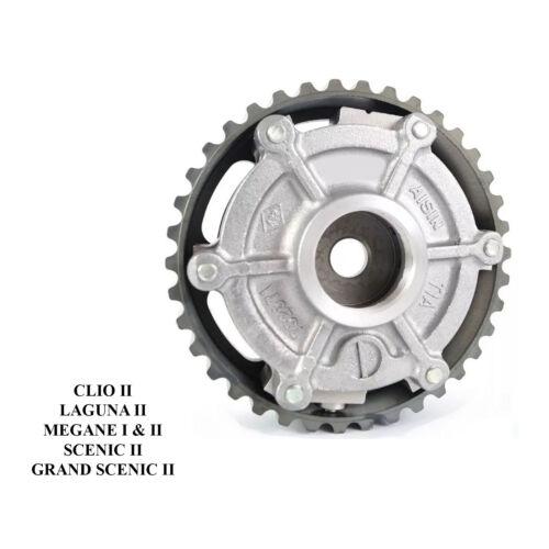 POULIE DEPHASEUR ARBRE A CAMES CLIO 2 LAGUNA 2 MEGANE 2 SCENIC 2 1.8 16V 2.0 16V