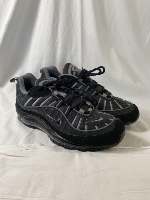 Size 12 - Nike Air Max 98 Black Smoke Grey