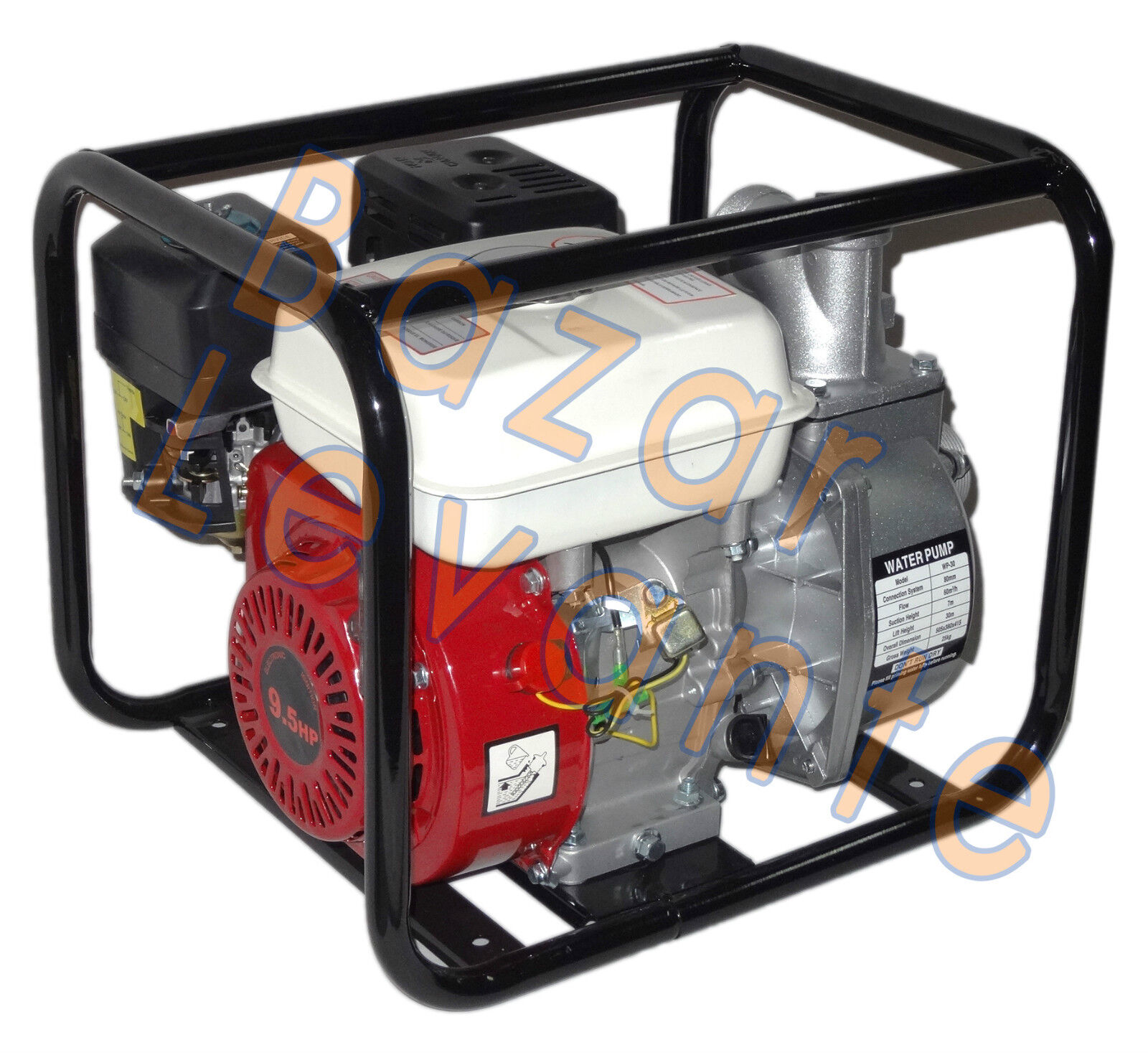 Pumpe- Wasser zu Benzin 30 m3 h 50 mm Motor Motor Motor 4T 5,5 PS-Pumpe   Angenehmes Gefühl    Exquisite Handwerkskunst  2664c5
