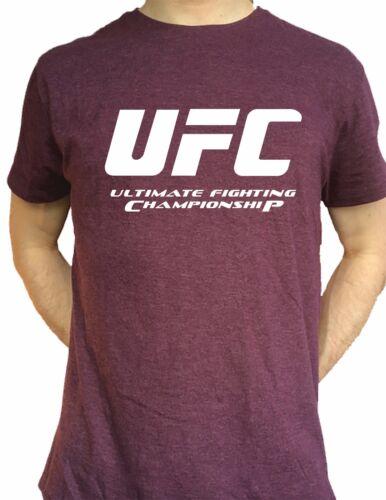 UFC Championship T Shirt McGregor MMA Thai Kick Boxing Gym Entraînement Cadeau Hommes Top