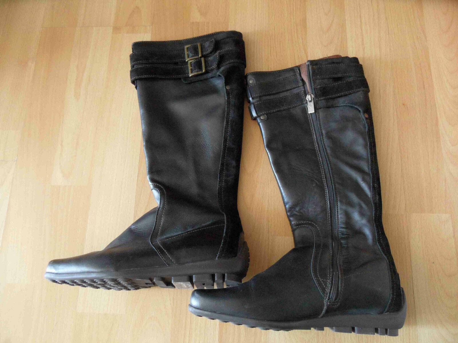 FLORIS VAN BOMMEL hochwertige hochwertige hochwertige flache Stiefel Gr. 36,5 TOP ZC316 116e35