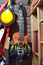 Lightly Used Gibson Epiphone Limited Edition Flamekat Electric Guitar Inv# RG35