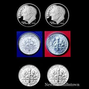 2019 P+D+S+S  Roosevelt Dime Silver Mint Proof Set ~ Coins from Mint Proof Set