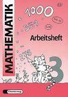Mathematik-Übungen. Arbeitsheft 3 von Peter Kohring und Horst Erdmann (1991, Geheftet)