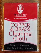 COPPER & BRASS CLEANING POLISHING CLOTH - MADE IN ENGLAND 44CM X 31CM