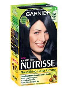 Garnier Nutrisse Nourishing Color Creme 22 Intense Blue Black
