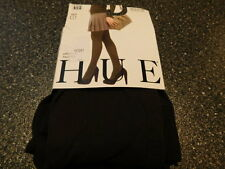 9d6c740db13 HUE Brand OPAQUE Tights Espreso Non-Control Top U4689 Regular Sz 1      R9F2