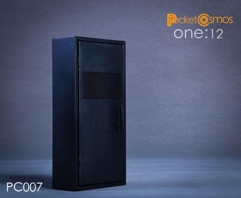 PCgiocattoli PC007 112 Scale Metal Weapon Cabinet 2.0 Soldier cifra Locker modellolo giocattolo