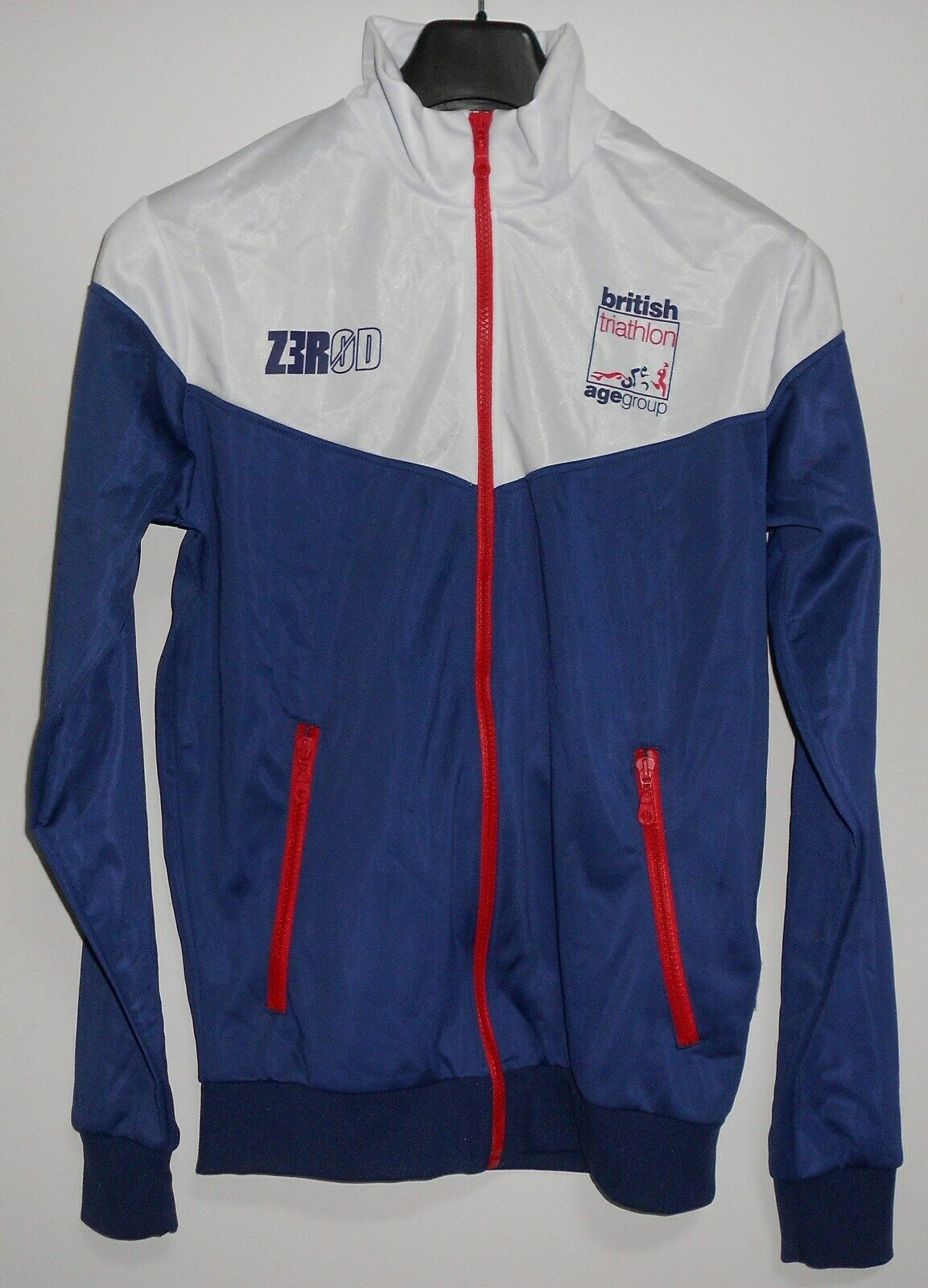 Team GBR Jacket Z3R0D Zerod ELITE & AGE GROUP BRITISH TRIATHLON Size Medium NEW