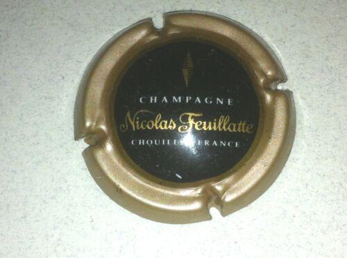 46. contour marron centre noir Capsule de Champagne Nicolas FEUILLATTE