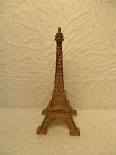 """Sujet en métal doré : """" Tour Eiffel """""""
