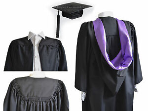 Luxury-Graduation-Gown-And-Burgon-Hood-Cap-Set-University-Bachelor-Academic-Robe