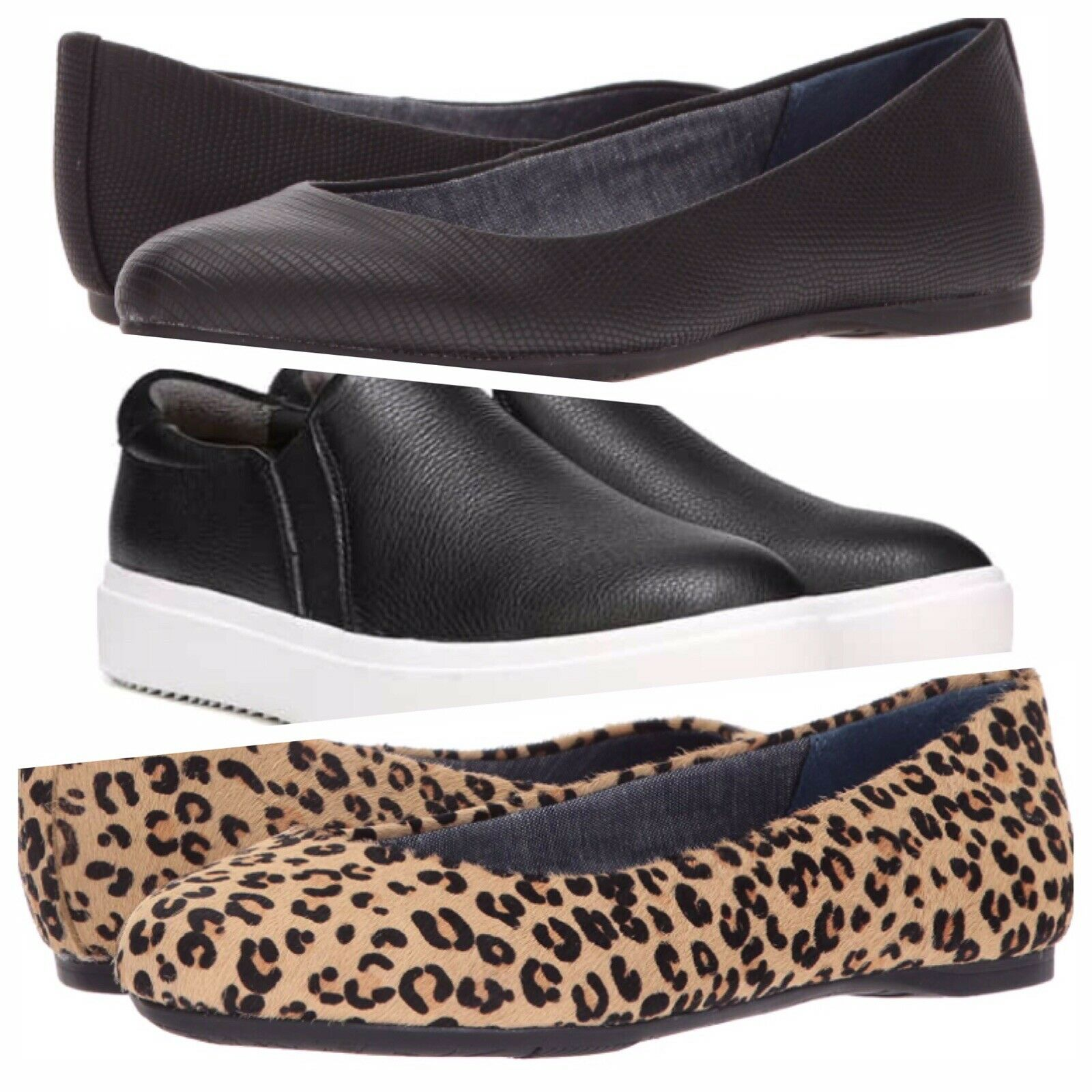 Dr Scholls LETA Slip On Sneaker GIORGIE Ballet Ballet Ballet Flats You Pick One New With Box 57e5ef