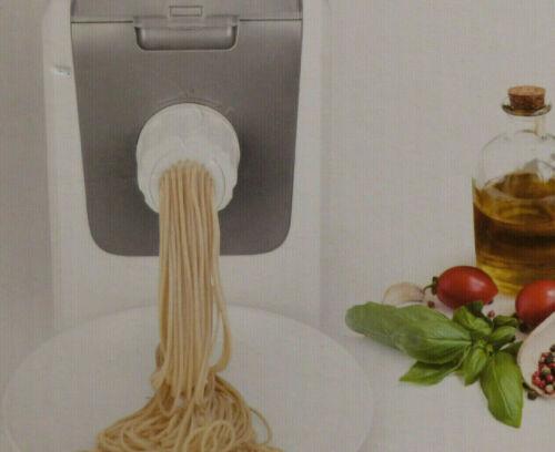Quigg Pasta Maker 220W für bis zu 600g Füllmenge 8 Aufsätze Nudelmaschine /NEU!  RYB42