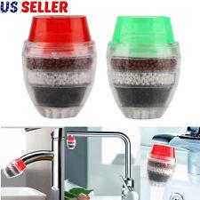 Coconut Carbon Faucet Tap Water Filter Purifier Clean Home Kitchen